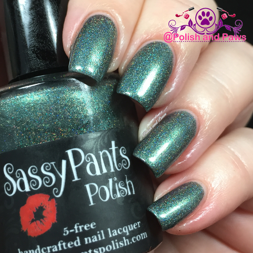 "Sassy Pants Polish Debut ""Find Your Sassy!"" Collection (FALL15) ""Jaded"""