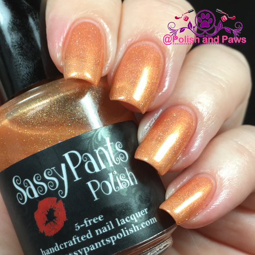 """""""Audacious"""" Sassy Pants Polish Debut """"Find Your Sassy!"""" Collection (FALL15)"""