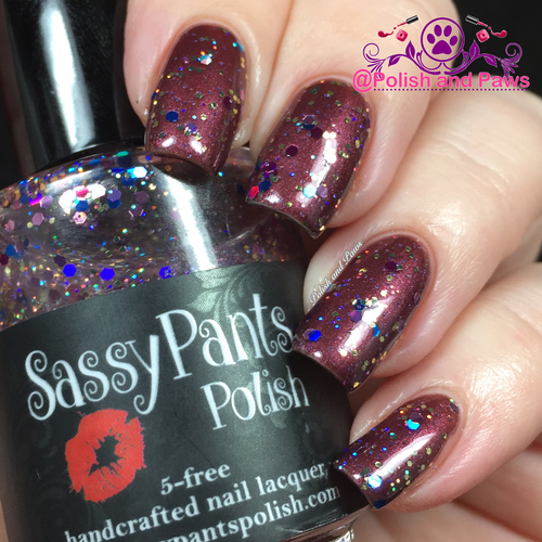 """Life of the Party"" over ""Vixen"" Sassy Pants Polish Debut ""Find Your Sassy!"" Collection (FALL 15)"