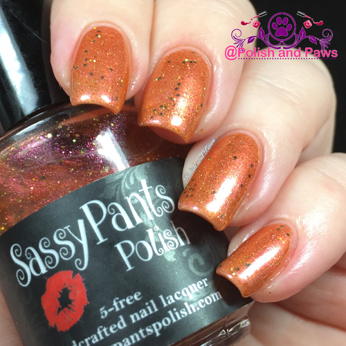 """Golddigger"" over ""Audacious"" Sassy Pants Polish Debut ""Find Your Sassy!"" Collection (FALL15)"