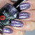 """""""Visions of Sugarplums""""  3 coats with glossy top coat Manicured & Marvelous"""