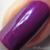 """Macro """"Forever Yours"""" Chameleon Shifting Shimmer Topper over """"Kiss Tell""""  Swatch by CDB Nails"""