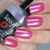 """""""Kiss Off"""" w/""""Love Always"""" Holographic Topper  Swatch by Manicured & Marvelous"""