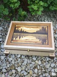 """""""Evening at Jenny Lake"""" Box from John Felten"""