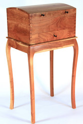 Cherry Chest on Stand from Jim Draper