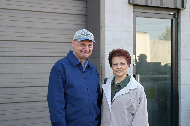 Larry & Faye