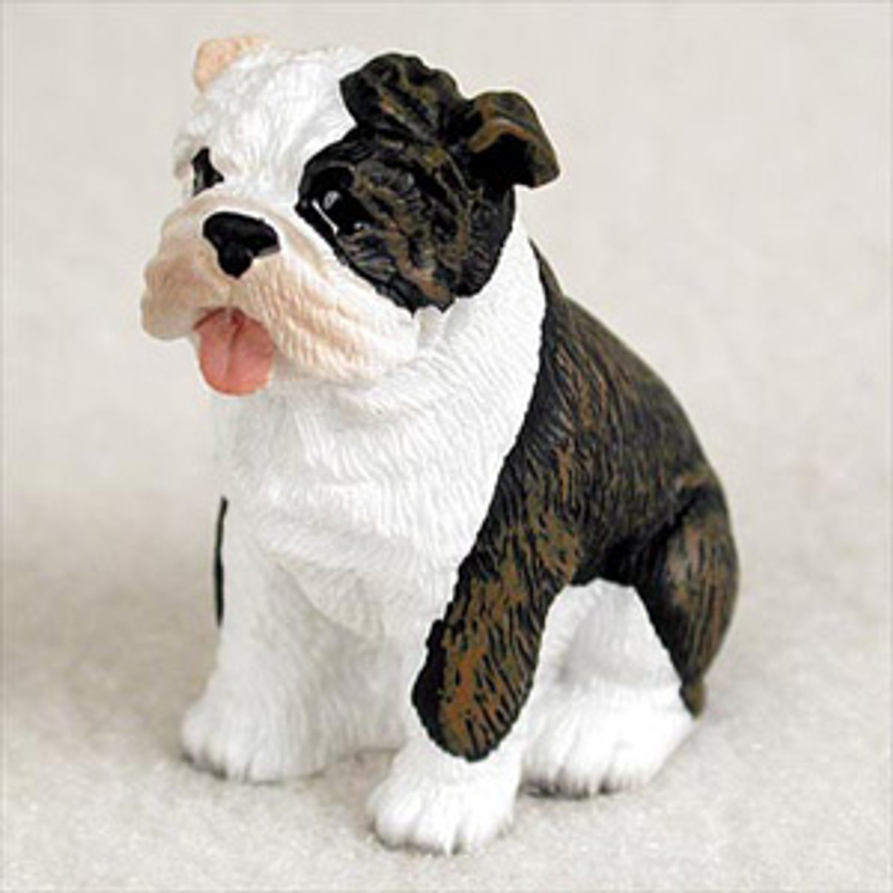 Bulldog Brindle Bonsai Tree Figurine Bonsaioutlet Com