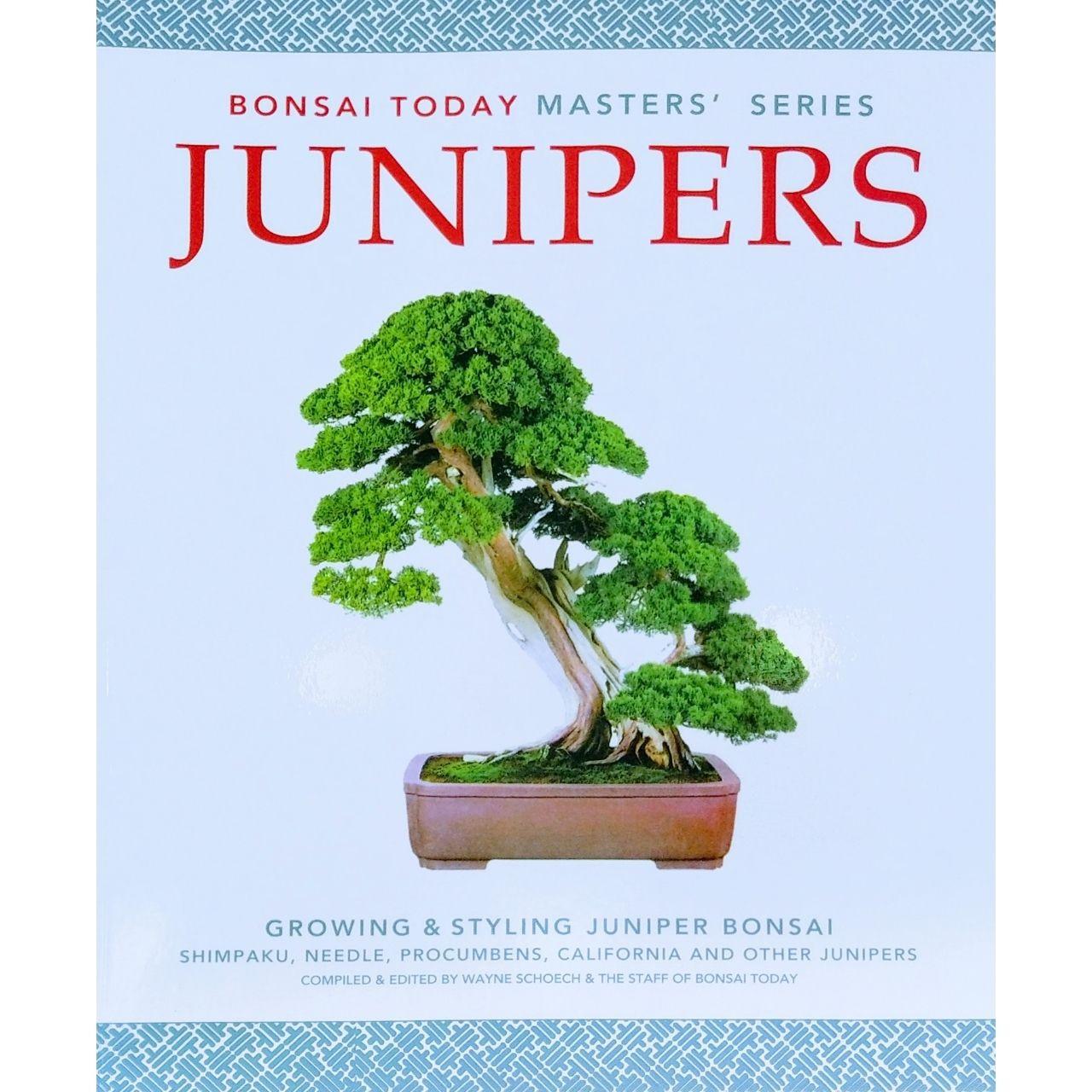 Junipers Growing And Styling Juniper Bonsai Book At Bonsaioutlet Com