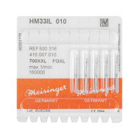 Meisinger HM33IL / Surgical Carbide X-Cut Taper FGXL-010, 5pk