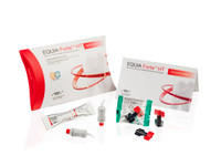 **NEW** EQUIA Forte HT - Bulk fill glass hybrid restorative system/ PROMO PACK A3 (100 capsules EQUIA® Forte Fil, 4mL EQUIA® Forte Coat, 25 applicator brushes)