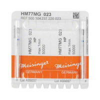 Meisinger HM 77MG - Carbide milling cutter, pear medium HP-023, 2pk
