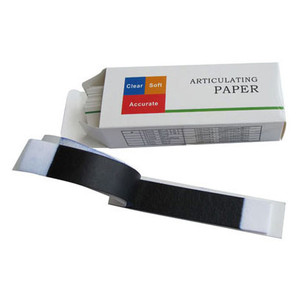Articulating paper blue thin, 50 micron (0.05mm), 10 books x 40 sheets