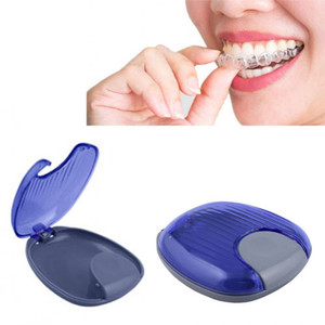 Retainer case for Invisible (Invisalign) retainers, 1pc blue