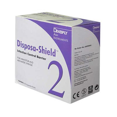 Disposa Shield No.2 (for air motor & 3-in-1 syringes) 250pcs, 55x455mm