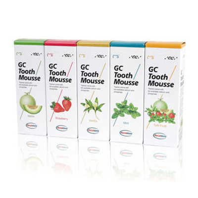 GC Tooth Mousse, assorted 5 pack