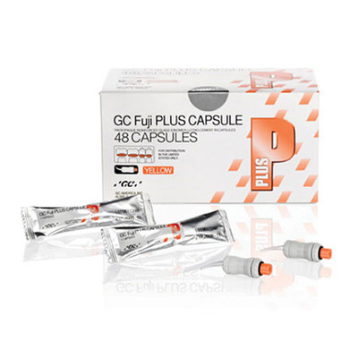Fuji Plus - Resin Modified Glass Ionomer Luting Cement, 50 capsules A3