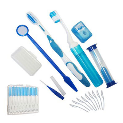 Orthodonti Hygiene kit, blue