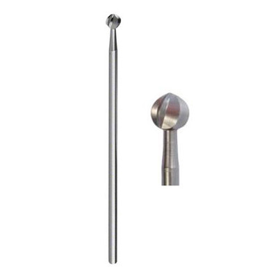 141RF - Stainless Steel surgical burs, Round head 1 pc HP-XL (various sizes)