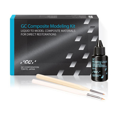 Composite Modeling kit - Liquid to model composite materials for direct restorations