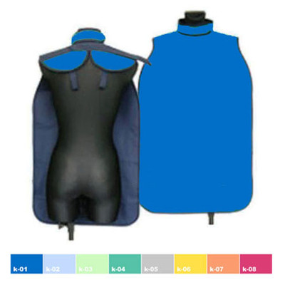 X-Ray Protective Aprons, Adult 50 x 80cm - KT (With Thyroid collar) Lightweight  0.25mm Pb on all surface