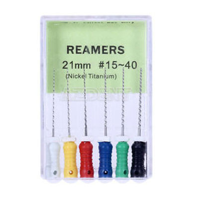 Hand reamers 21mm, 6pcs, assorted pack #015-040