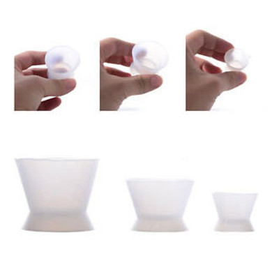 Acrylic mixing bowl clear - S (7ml)