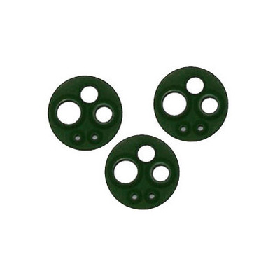 StarDental Five Hole And Four Line Gasket - 3pcs green (202897)