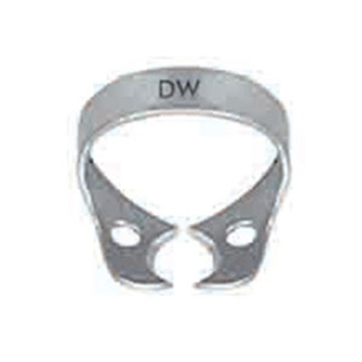 ECO Rubber dam clamp winged #DW - Small molars and large bicuspids