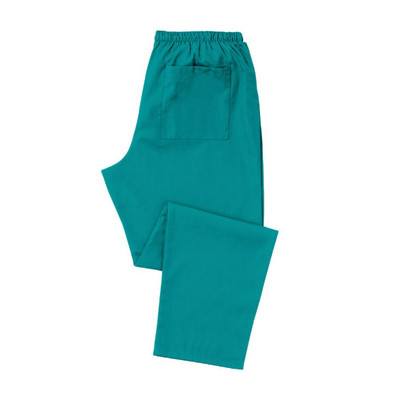 Unisex Scrub Trousers (D398) Jade, Size Small - Short length 29ins