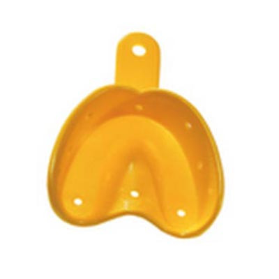 O Trays U1 - Small upper ortho impression tray, 20pk yellow