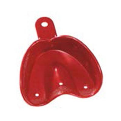 O Trays U2 - Medium Upper ortho impression tray, 20pk red