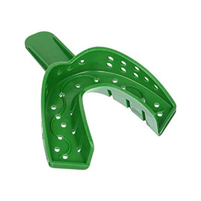 #20D Perforated Spacer impression tray, large lower (250201) 12pk