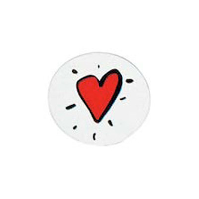 "Novel designs ""Heart"" (Orthodontic Acrylics Inlay Decals) 20pcs"