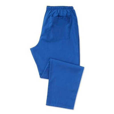 Scrub Trousers (D398) Unisex, Royal blue - Regular length 31 inches - Size Medium