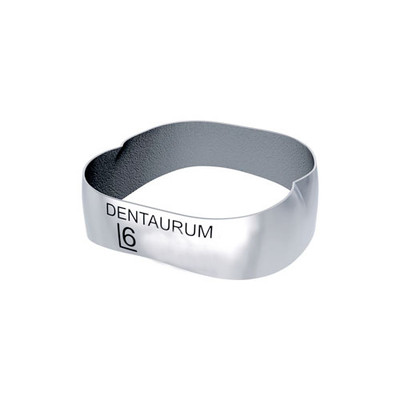 Dentaform® Lower Right first molar bands No.27 (Teeth : 46) Band thickness 0.18mm,  ø mesial-distal 12.10mm / unwelded 10pcs