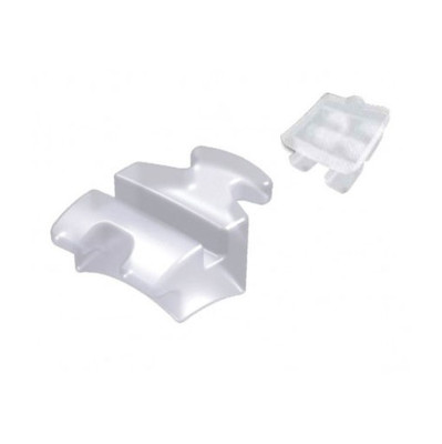 Fascination® Ceramic Aesthetic Brackets, Upper cuspid right (-2° torque, +13° angulation) 10pcs