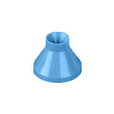 Autoclavable Universal Mixing wells plastic, 1pc blue