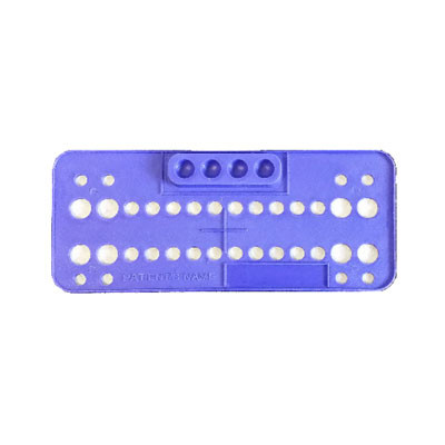 Bracket trays - 25 trays blue