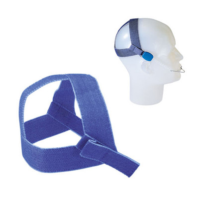 High-pull headgear without safety modules (745-027-00) blue denim