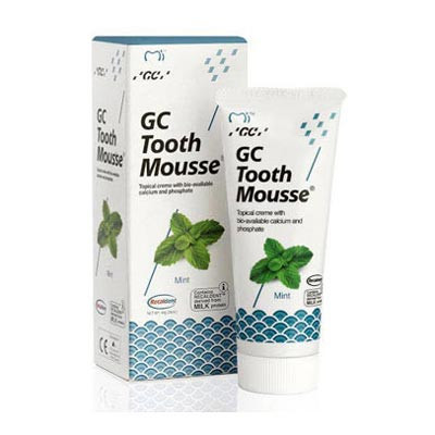 GC Tooth Mousse, 10 pack mint