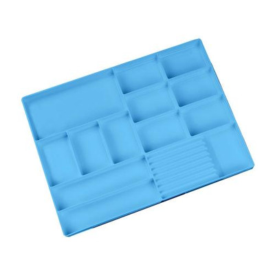 Mobile Cabinet tray insert blue 993489 (L405 x W320  x D25mm)