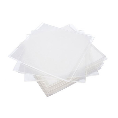 Vacuum Forming plastic sheets - Soft Square (127 x 127mm) thickness 2.0mm / 10pcs