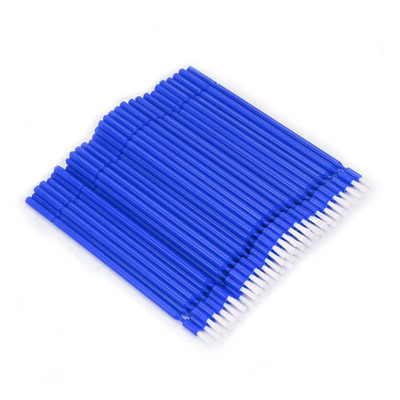 Bendy-Brush (Bendable bond brushes) pack of 100 pieces blue