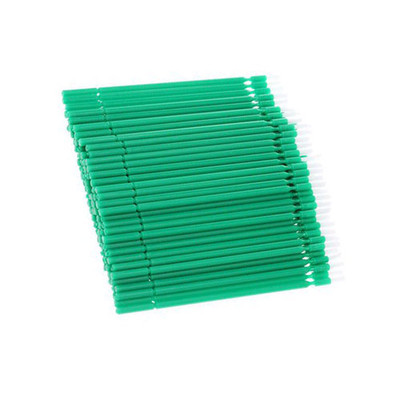 Bendy-Brush (Bendable bond brushes) pack of 100 pieces green