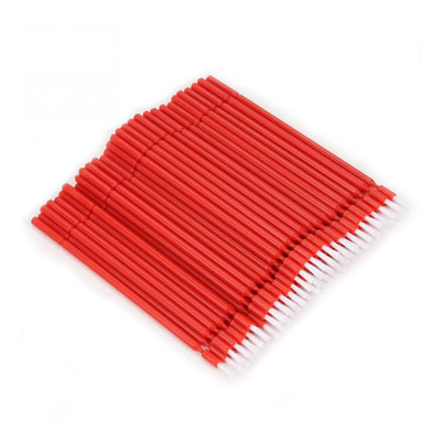 Bendy-Brush (Bendable bond brushes) pack of 100 pieces red