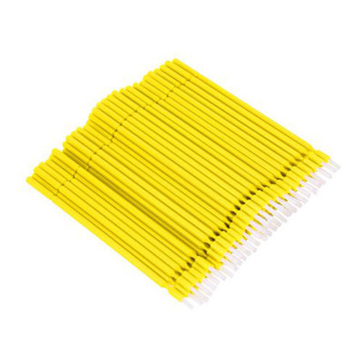 Bendy-Brush (Bendable bond brushes) pack of 100 pieces yellow