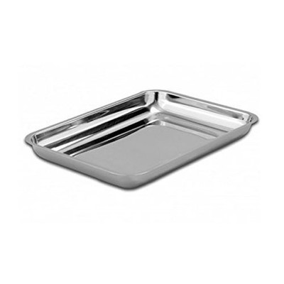 Stainless Steel Hollow instrument tray (172 x 283 x 38mm)