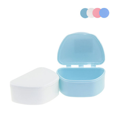 Ortho Denture boxes Small (95x70x38mm) 12pcs assorted colour