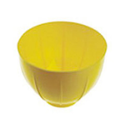 Plastic Mixing bowl - Large (130 x H80mm) Yellow