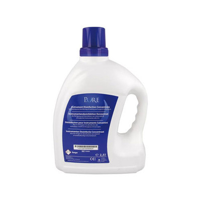 Instrument disinfectant concentrate 2.5L (Suitable for use in an ultrasonic bath at room temperature)